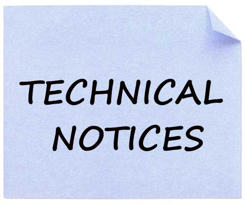 technical notices