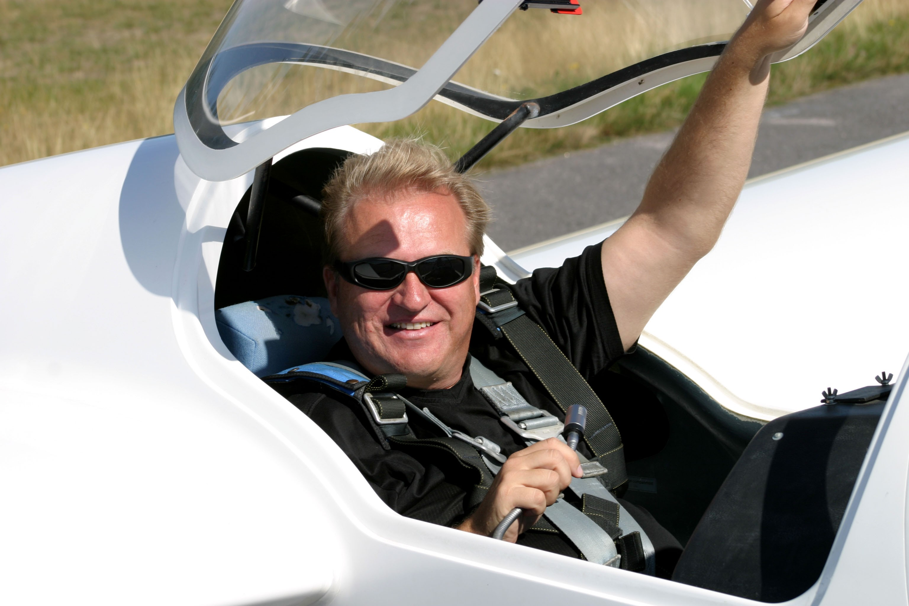 Matti Peura - Finnish Glider Aerobatic Champion in 2005