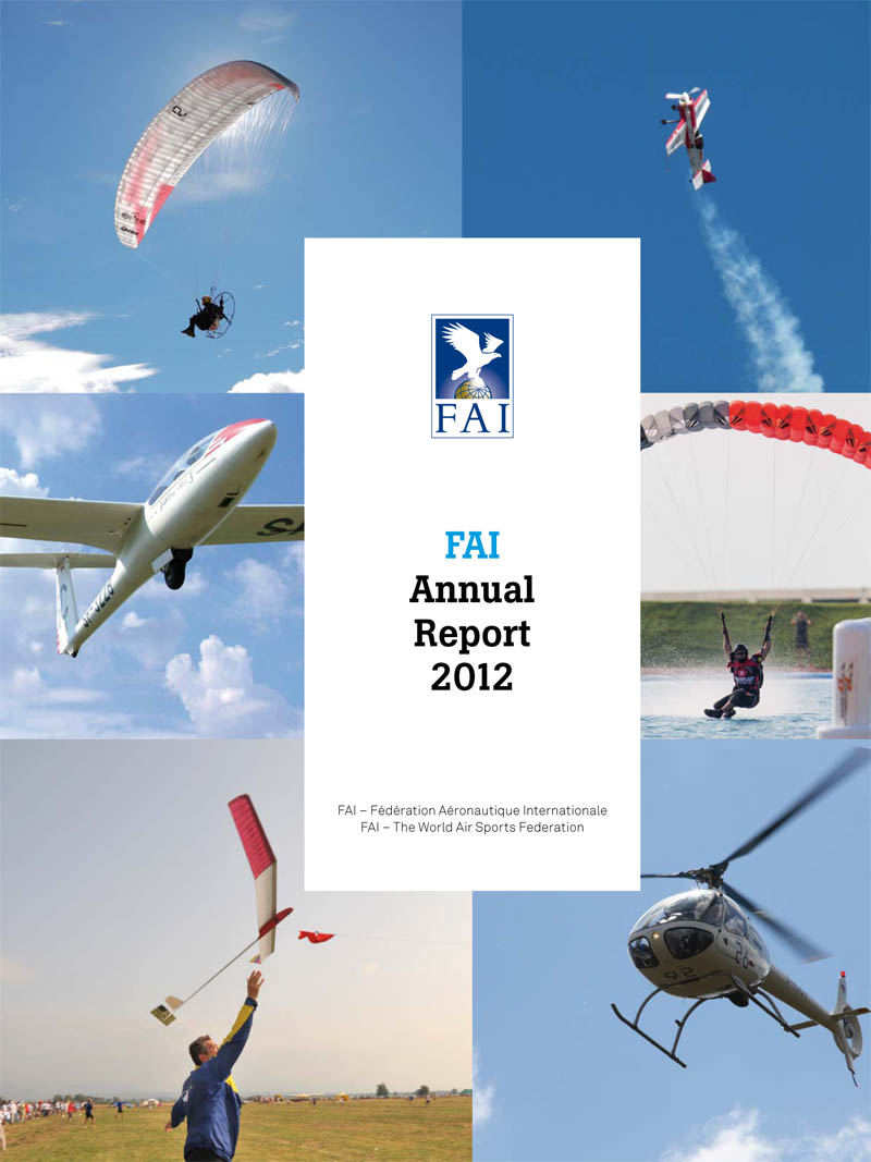2012 FAI Annual Report cover