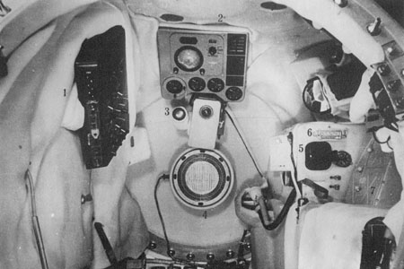 Inside view Vostok s