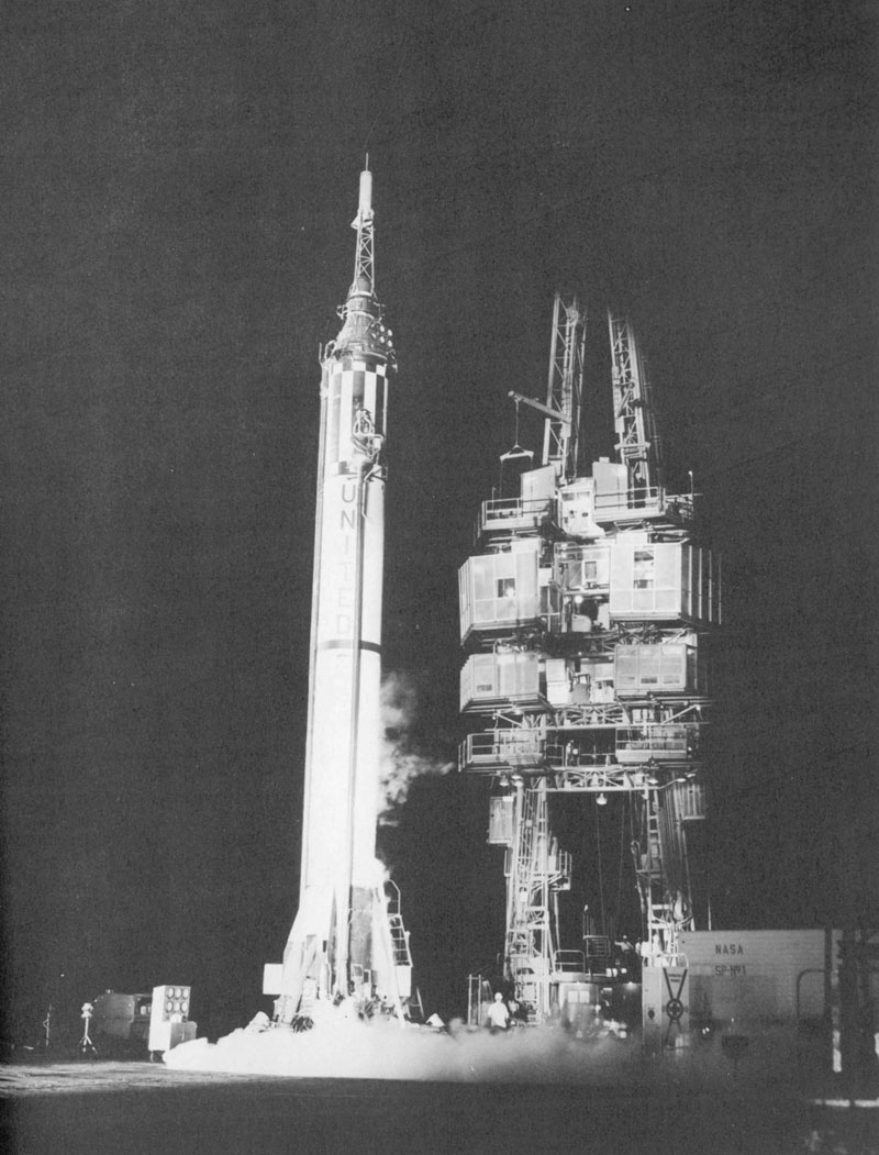 Mercury-Redstone on the pad