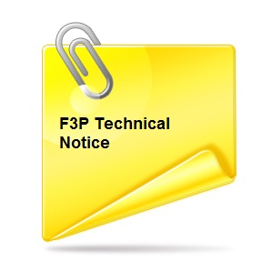 F3P Tech Notice Logo
